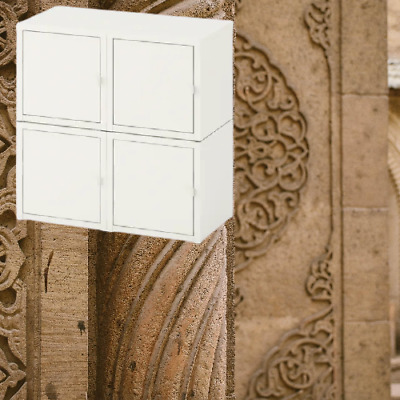 *New LIXHULT Wall Mounted Cabinet Combination, White 52x25x50 Cm 892.791.74 IKEA • 109.99£