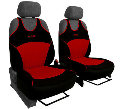2 Front Red Car Seat Covers For BMW • 21.99£