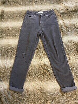 "Topshop Mom Cord Jeans Grey 28""/34"" • 5£"