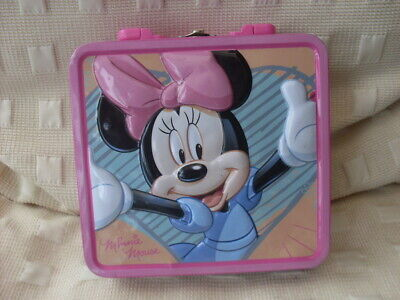 Childs Lunch  Tin Box Disney Minnie Mouse • 0.50£