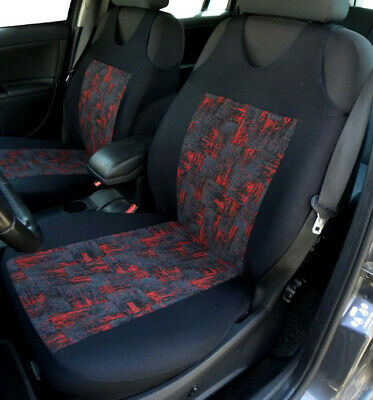 2 Front Red Car Seat Covers For BMW • 19.99£