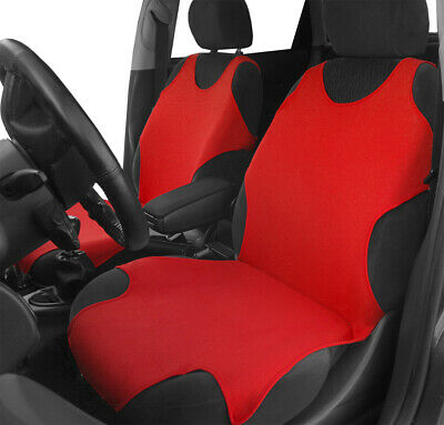2 Front Red Car Seat Covers For BMW • 17.99£