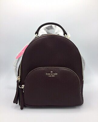 $ CDN198 • Buy Kate Spade NY Backpack Jackson Medium Pebbled Leather Backpack NWT