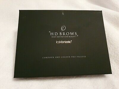 HD Brows X Look Fantastic Contour And Colour Pro Palette 6x6g *Brand New* • 8£