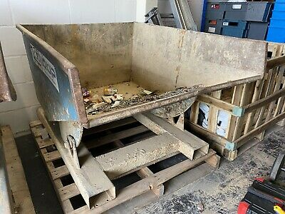 Used Forklift Tipping Skip • 97£
