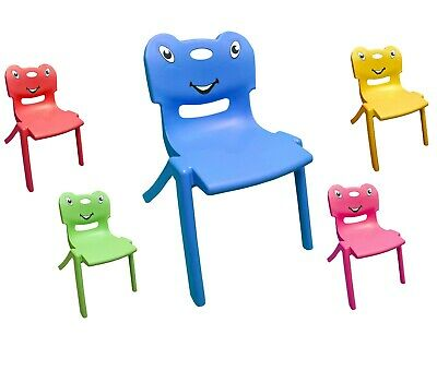 Toddler Chairs Children Strong Plastic Chair Kids Party Chair Indoor Outdoor • 8.99£