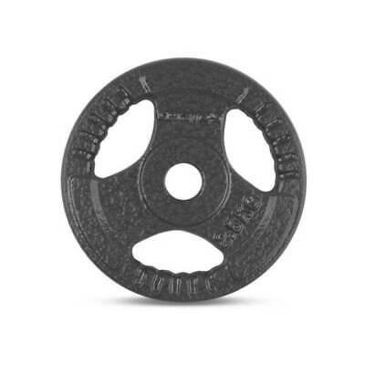 AU49.95 • Buy SET OF 4x 2.5KG CAST IRON TRI GRIP STANDARD WEIGHT PLATES 27mm Hole - HOME GYM