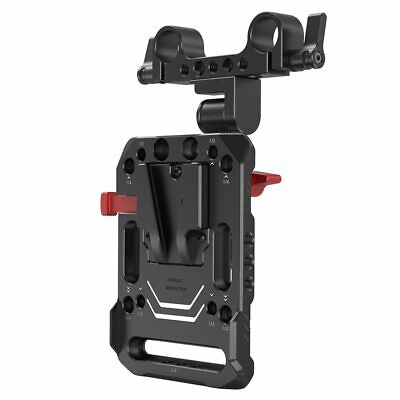 AU75.32 • Buy SmallRig V Mount Battery Plate Dual 15mm Rod Clamp With Adjustable Arm 2991