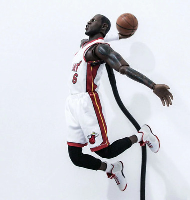 $299 • Buy LEBRON JAMES Miami Heat Action Figure Basketball Collection 12inch 34cm