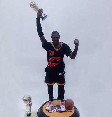 $299 • Buy LEBRON JAMES Cleveland Cavaliers Action Figure Basketball Collection 12inch 34cm