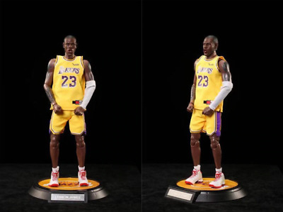 $299 • Buy LEBRON JAMES Lakers Action Figure Basketball Collection 12inch 34cm