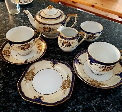 Noritaké 6 Piece Vintage  Tea Set.  Excellent Condition.  • 23£