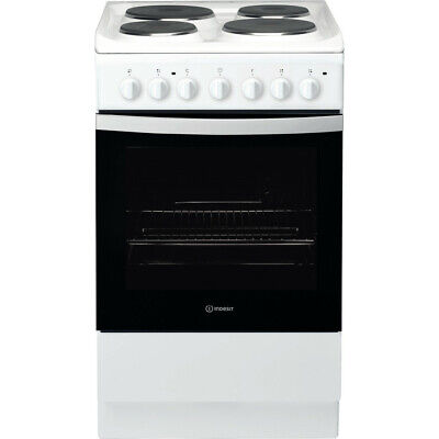 £209 • Buy Ex Display Indesit IS5E4KHW 50cm Single Oven Electric Cooker - White