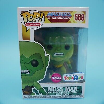 $15 • Buy Funko Pop Masters Of The Universe Moss Man 568 Flocked W/Pop Protector (132)