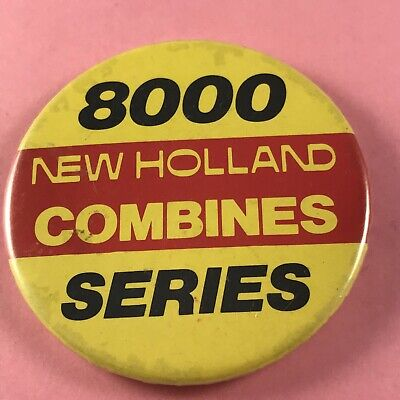 £3.99 • Buy New Holland Tractor Pin Badge (see Pics) 8000 Series Combines Farm Farmer