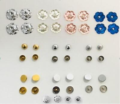 £1.99 • Buy Mirror Screw Caps - Choice Of Dome Or Disc Caps In Brass, Chrome & Satin Finish