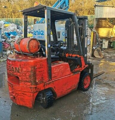 Nissan 3.5t Counterbalance Forklift • 1,120£
