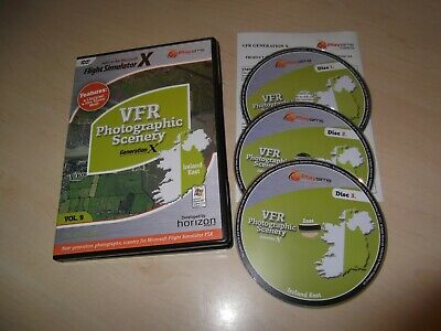 ✈️ Generation X Vfr Photo Scenery Ireland East Flight Simulator X Fsx Add-on • 19.99£