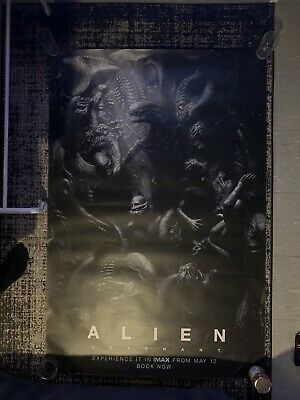 Extremely Rare - ALIEN COVENANT - HR Giger - IMAX Poster *5ft X 3ft4* • 28£