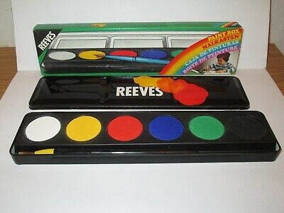 Vintage Reeves Watercolour Paint Box - Never Been Used!!! • 7.99£