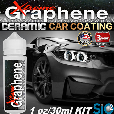 $23.95 • Buy Ceramic Car Coating High Gloss Carbon Graphene 9h Hardness Wet Look Protection