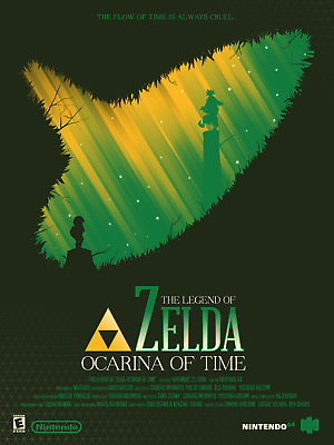 $14.50 • Buy Zelda Ocarina Of Time Poster Set Of 1 Of 9 ( 20in X 30in) - FREE SHIPPING