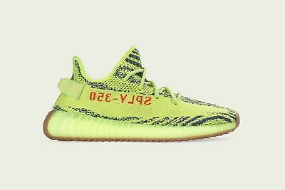 $ CDN765.54 • Buy New Adidas Yeezy Boost 350 V2 Semi Frozen Yellow Zebra Size 5.5 B37572