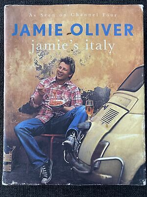 AU26 • Buy Jamie's Italy Jamie Oliver Hardcover Cook Book Cooking Recipes