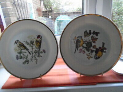 Collectable Fine Bohemia China Pair Of Bird Plates Series 11 1980 • 2.45£