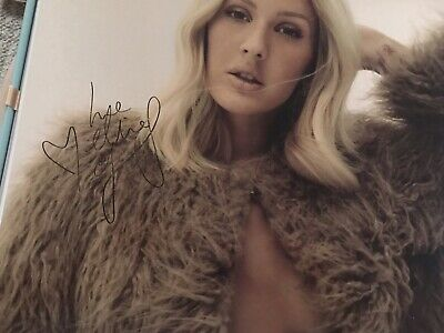 Ellie Goulding Delirium Deluxe Edition Signed Photo Very Rare !!!!!! Sold Out • 20£