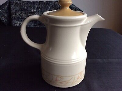 Bilton Coffee Pot With Contrast Lid 1960's 70's Retro Flower Design Brown • 6.90£
