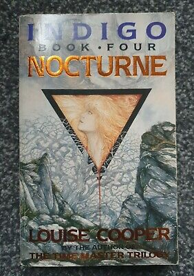 Nocturne UNDIGO (Book Four) By Louise Cooper-1989 Paperback Edition  • 0.50£