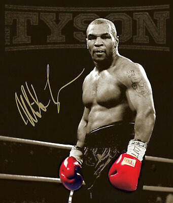 MIKE TYSON BOXING LEGEND 1 NEW ART Print Poster Wall Picture A4 + • 4.99£