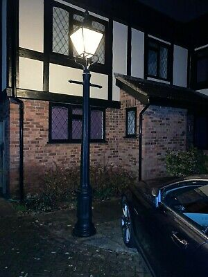 Victorian Style Street Light For Drive Or Patio Including Bulb • 4.20£