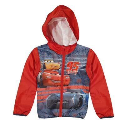 Disney Cars Kids Hoodie Jacket Waterproof • 13.75£