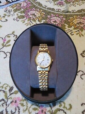 Ladies Citizen Gold Plated Eco Drive Watch  • 65£