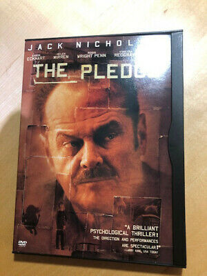 The Pledge (DVD, 2002) Region 1 NTSC Jack Nicholson, Helen Mirren • 0.99£