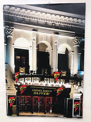 £4.95 • Buy OLIVER  The Musical Theatre Programme Westend PALLADIUM