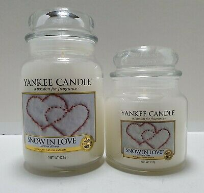 Yankee Candle - Snow In Love. Large Or Medium Choose Size • 22.50£