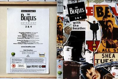 The Beatles Anthology Volume 3 + 4 DVD • 12.99£