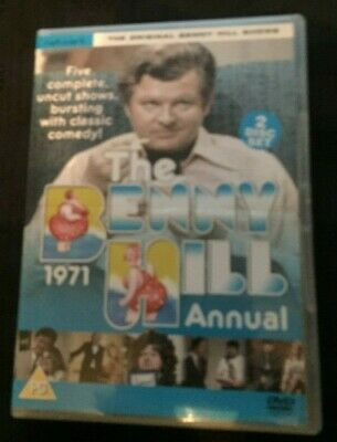 The Benny Hill 1971 Annual Dvd • 4£