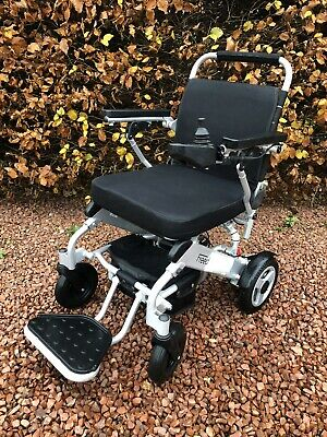 Freedom Chair A06 Motorised Electric Light Folding Wheelchair. Used Once • 600£