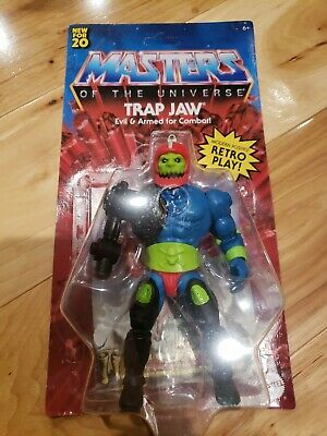 $23 • Buy Masters Of The Universe Origins Trap Jaw Action Motu In Hand
