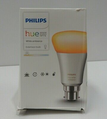 AU38.24 • Buy Philips Hue White Ambiance 10W B22 Extension Bulb
