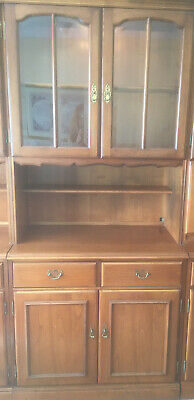 Younger Cherry Wood Display Cabinet • 40£