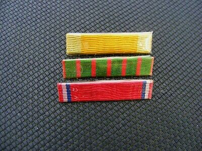 WW1 Original Set French Medals Ribbons Bars 1914 1918 • 7.99£