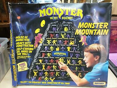 Monster In My Pocket Volcano Display 1990 Matchbox MIMP Box Included • 163£