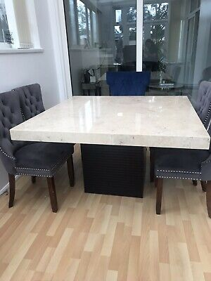 Marble Dining Table From Barker And Stone House • 450£