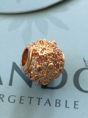 Pandora Rose Gold Meadow 788797C01 Pink Pavé Daisy Flower S925 ALE MET • 0.99£