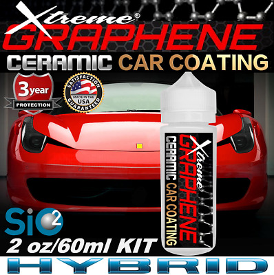 $36.95 • Buy Ceramic Car Coating Graphene Paint Sealant  Scratch Resistant  Gloss Protection
